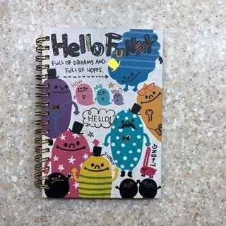 Cute Single-Lined Notebook
