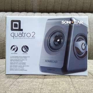 SonicGear Quatro 2 Speaker #FEBP55