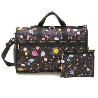 Authentic Lesportsac weekender 1+1