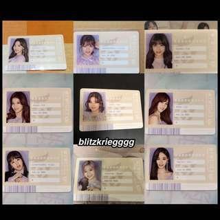 🚚 [PO] Twice #TWICE2 Japan Album ID Card