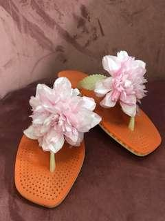 Kate Spade Floral Slippers