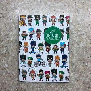 The Paper Stone cute Single Lined Notebook