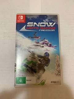 Switch Game - Snow moto racing freedom