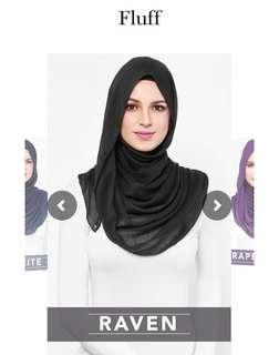 Looking for : Duckscarves Fluff in Raven