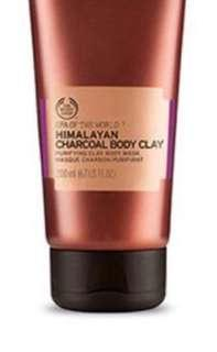 Body Shop - Himalayan Charcoal Clay Body Mask