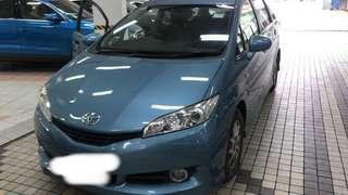 Toyota Wish For Rent-PRIVATE HIRE-