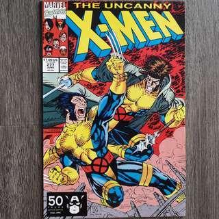 Uncanny X-Men #277 (Last issue of Jim Lee & Scott Williams on Uncanny X-Men!)
