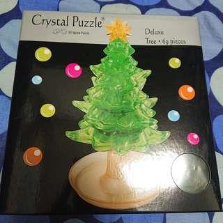 全新 3D 立體 拼圖 砌圖 聖誕樹