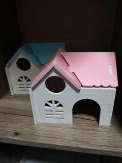 Hamster hideout for Syrians n dwarfs.