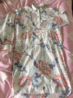 Gap Designed & Crafted woman top 女裝印花長袖襯衣