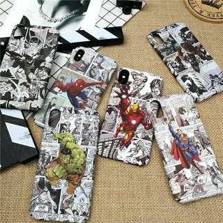 🚚 PO: Marvel Superheroes Phone Casing