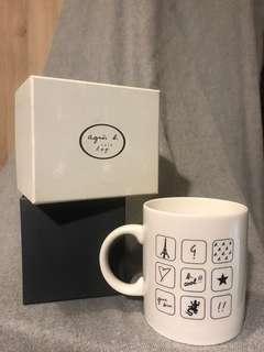 🚚 agnes.b Café 正品咖啡杯(附盒)