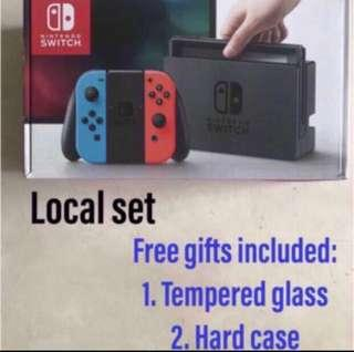 Nintendo Switch Console Local - Free Gifts included