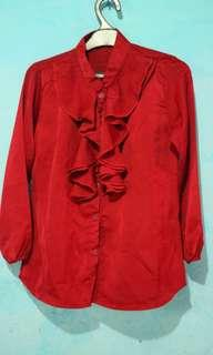 Kemeja Merah Bagus