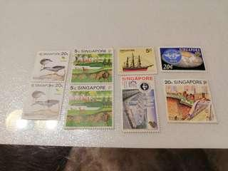 🚚 Stamps collectibles : Singapore
