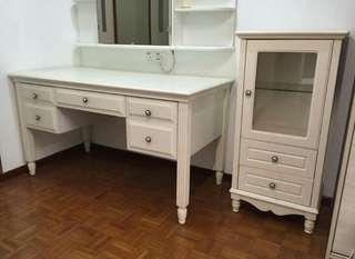 Make Up Table + Side Table