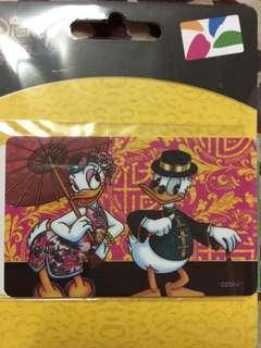 🚚 迪士尼悠遊卡-唐老鴨中國風