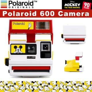 🚚 POLAROID 600 Vintage Instant Film Camera– DISNEY MICKEY MOUSE Edition