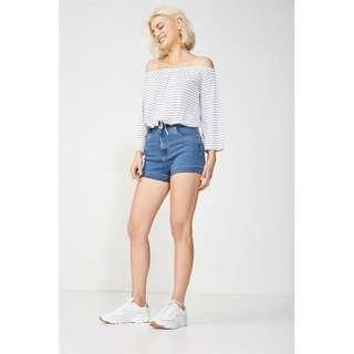 🚚 Cotton on high classic shorts HWS