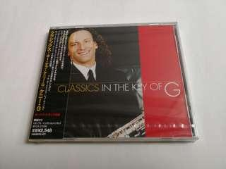 CLASSIC IN THE KEY OF G 全新 (MADE IN JAPAN)
