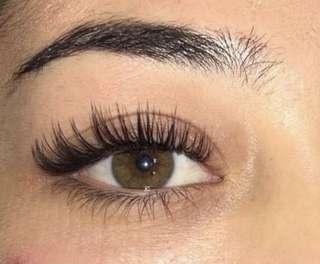 Classic eyelash extentions full set