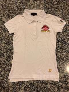 Polo shirt putih