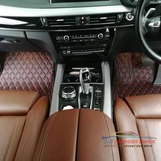Luxury car mat for BMW X5 F15