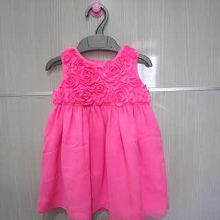 Carters dress pink