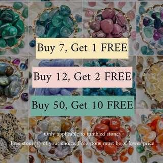🚚 Bulk Promotion! Only for Tumbled Stones