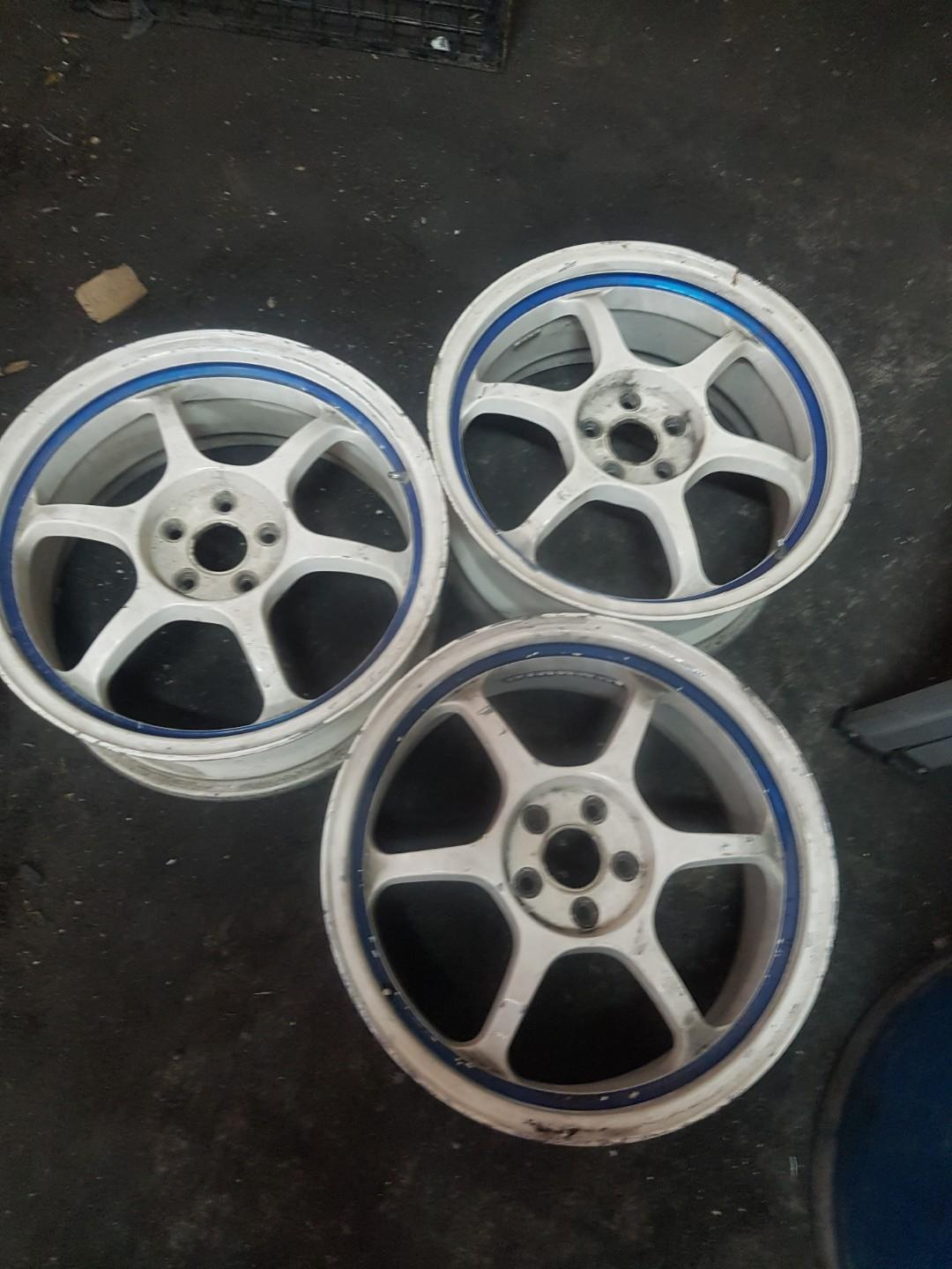 3 pcs advan rg ..5x100..17x7.5jj