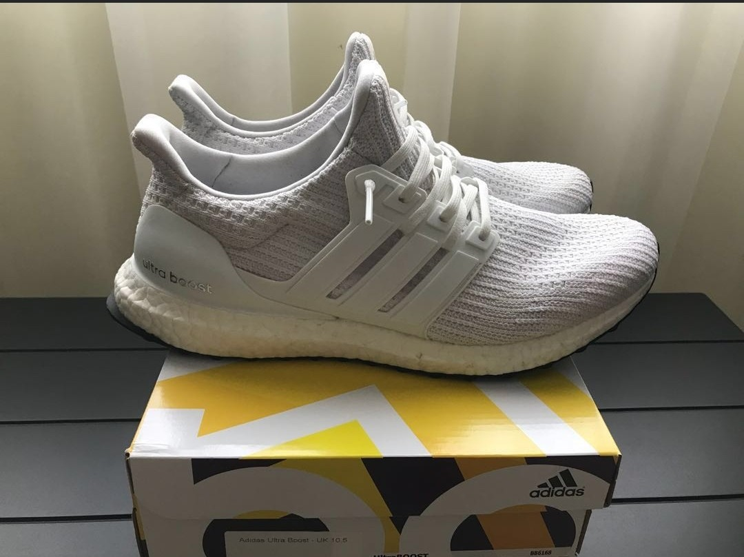 8fd2ce813 Adidas Ultra Boost 4.0 Triple White US11