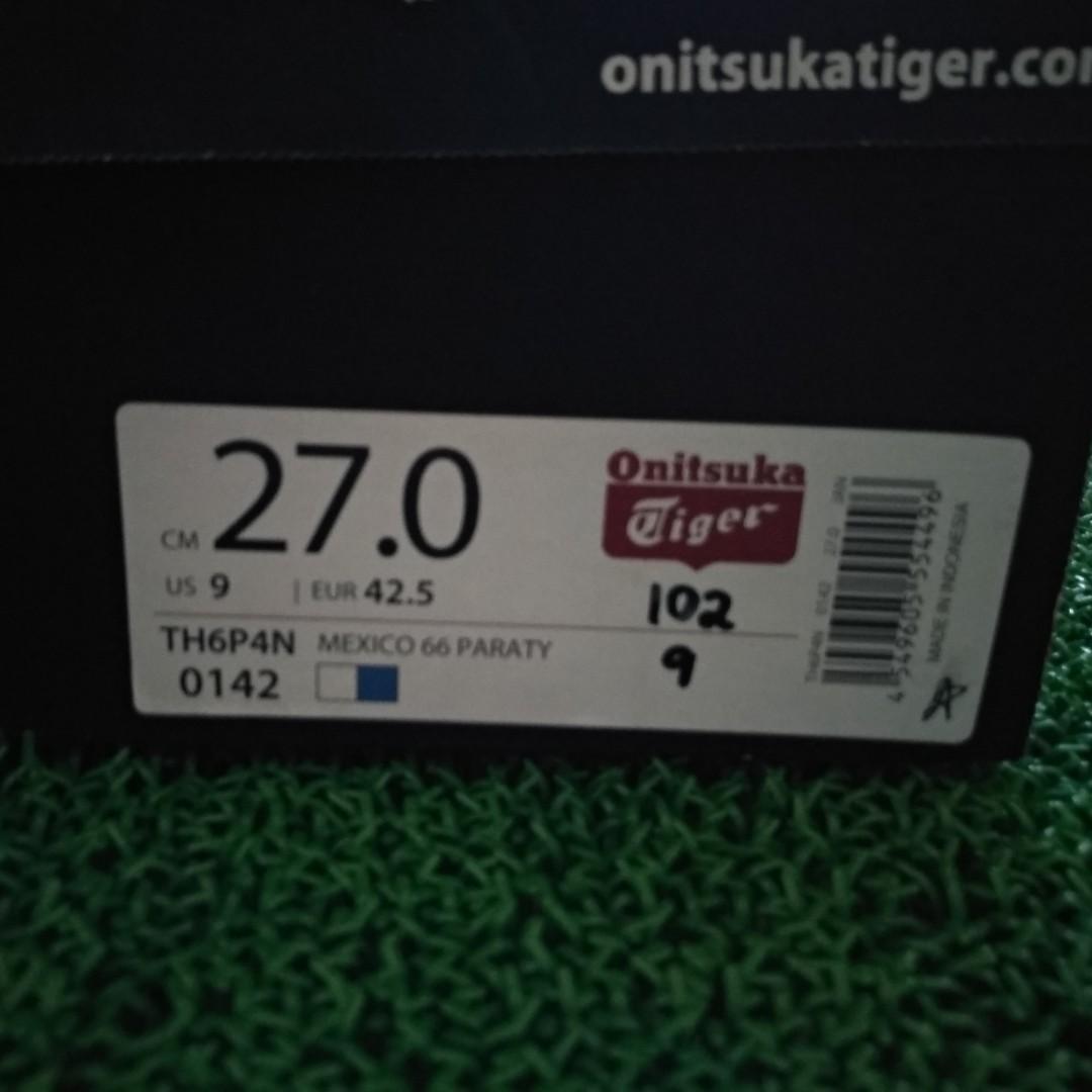brand new 02f81 ed606 Asics Onitsuka Tiger Mexico 66 Paraty White/Blue TH6P4N-0142 ...