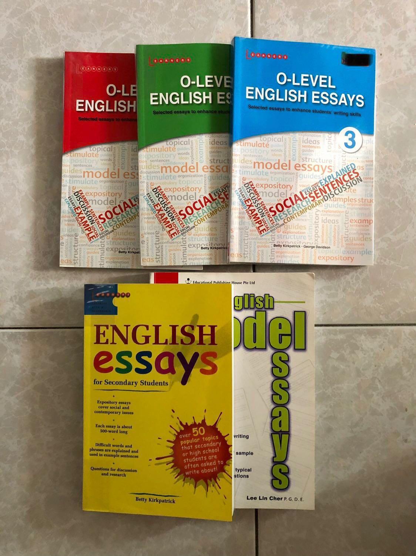 assessment books bundle o level english essays