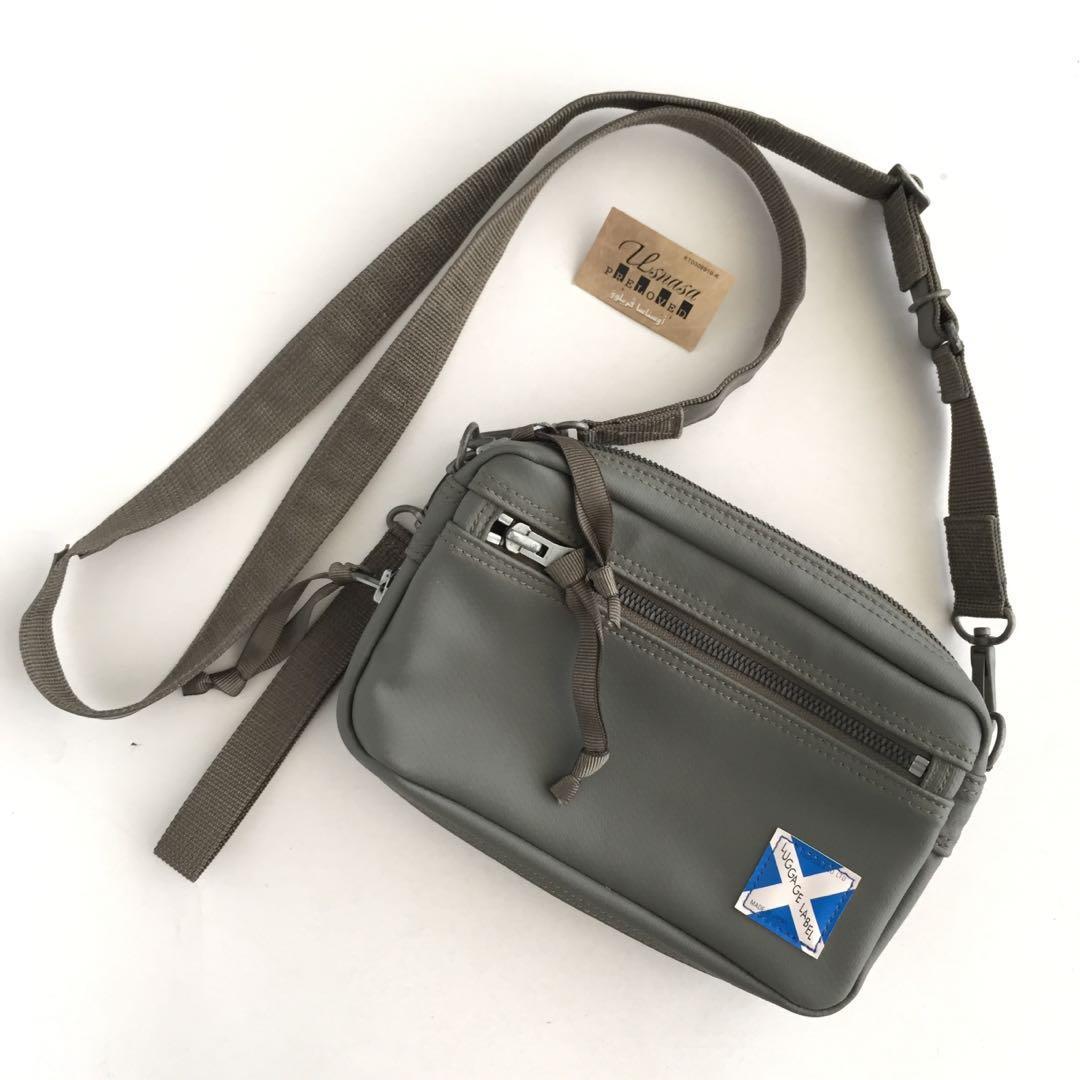 Authentic Luggage Label Slingbag Made In Japan Tinggi 14cm x Lebar 22cm Very Good Condition Rm Cod Kota Bharu http://www.wasap.my/60104550163