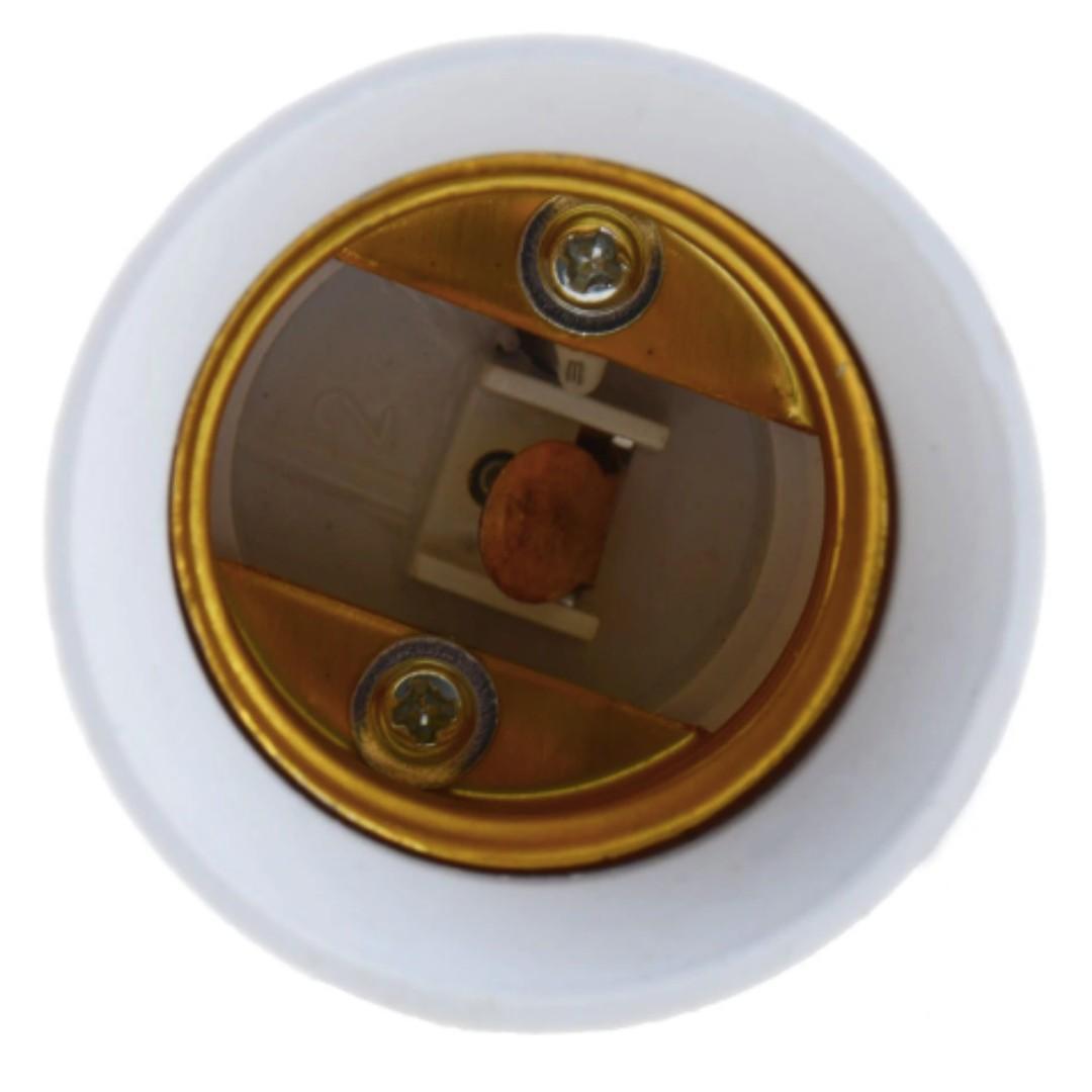 B22 to E27 Fireproof Material lamp Holder Converter Socket light Bulb Base type Adapter