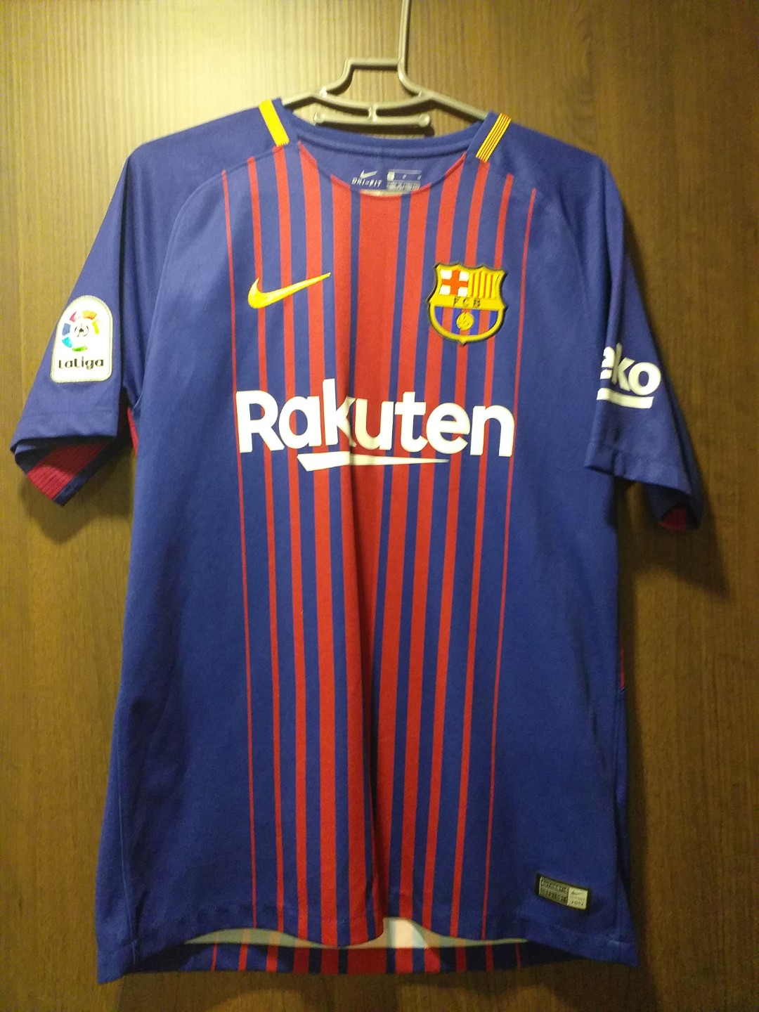 promo code c165d a9f19 Barca jersey with Messi name