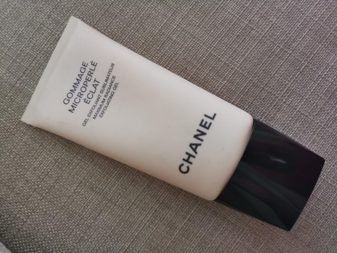 Chanel Gommage Microperle Eclat Maxium Radiance Exfoliating Gel