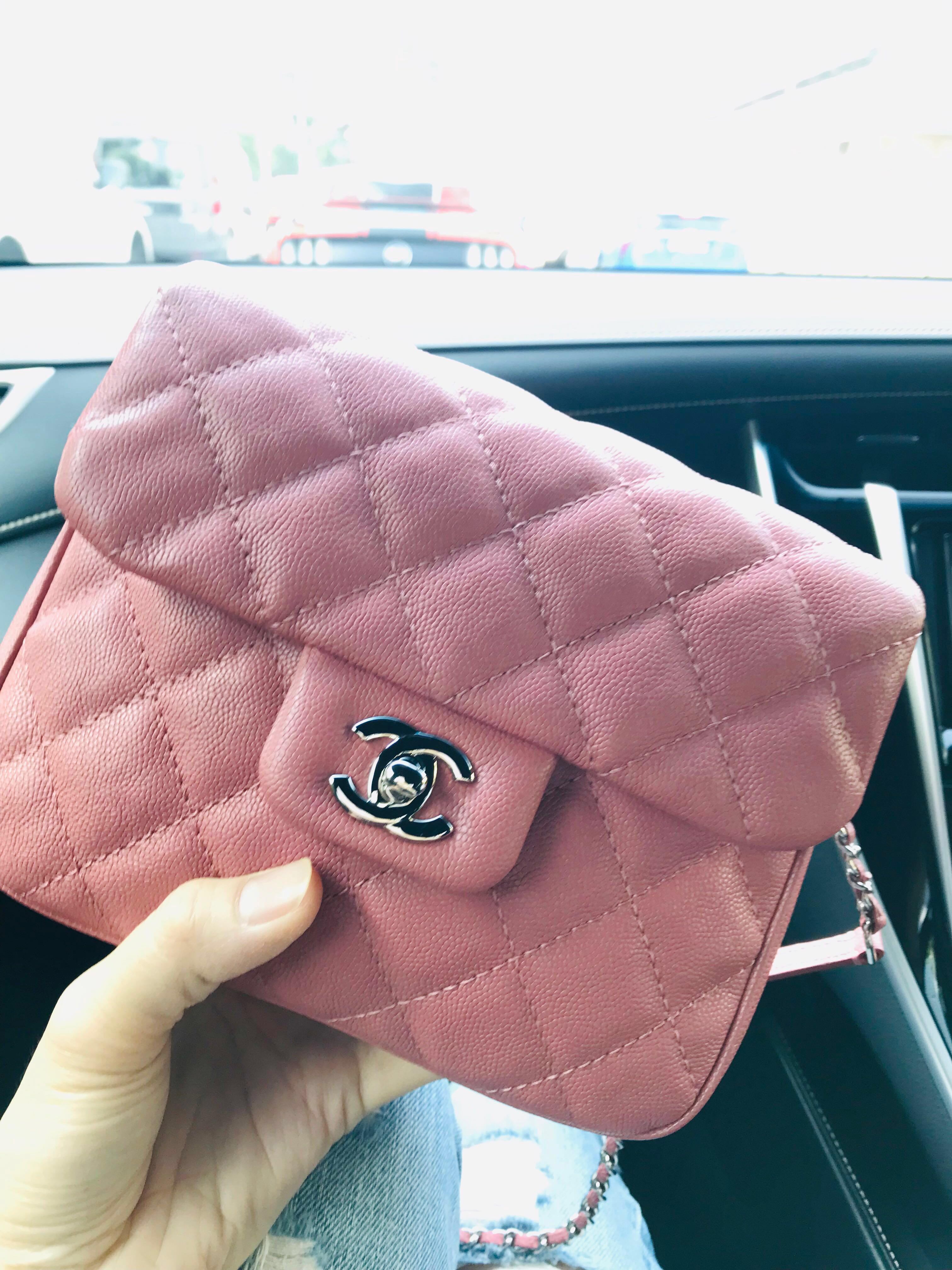 23149f496f66 Chanel Urban Companion Small Caviar Pink, Women's Fashion, Bags & Wallets,  Handbags on Carousell