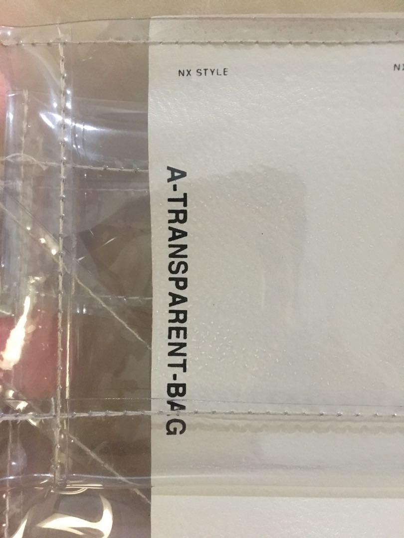 Fannypack Transparant Bag
