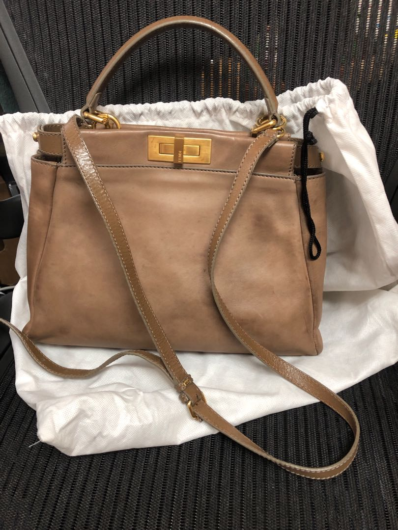 52c31545b7cf Fendi peekaboo medium bag