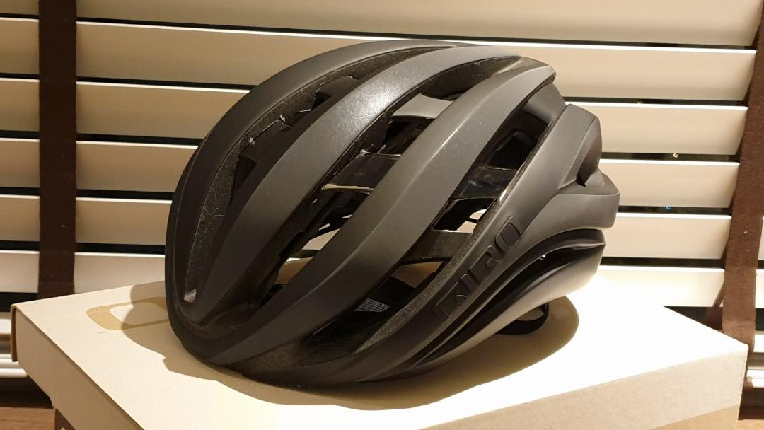 Giro Aether Mips Helmet Matt Black Flash Size L Bicycles Pmds Bicycles Road Bikes On Carousell