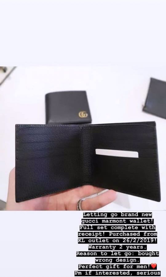 08c29433b3cb Gucci Wallet for Men, Luxury, Bags & Wallets, Wallets on Carousell