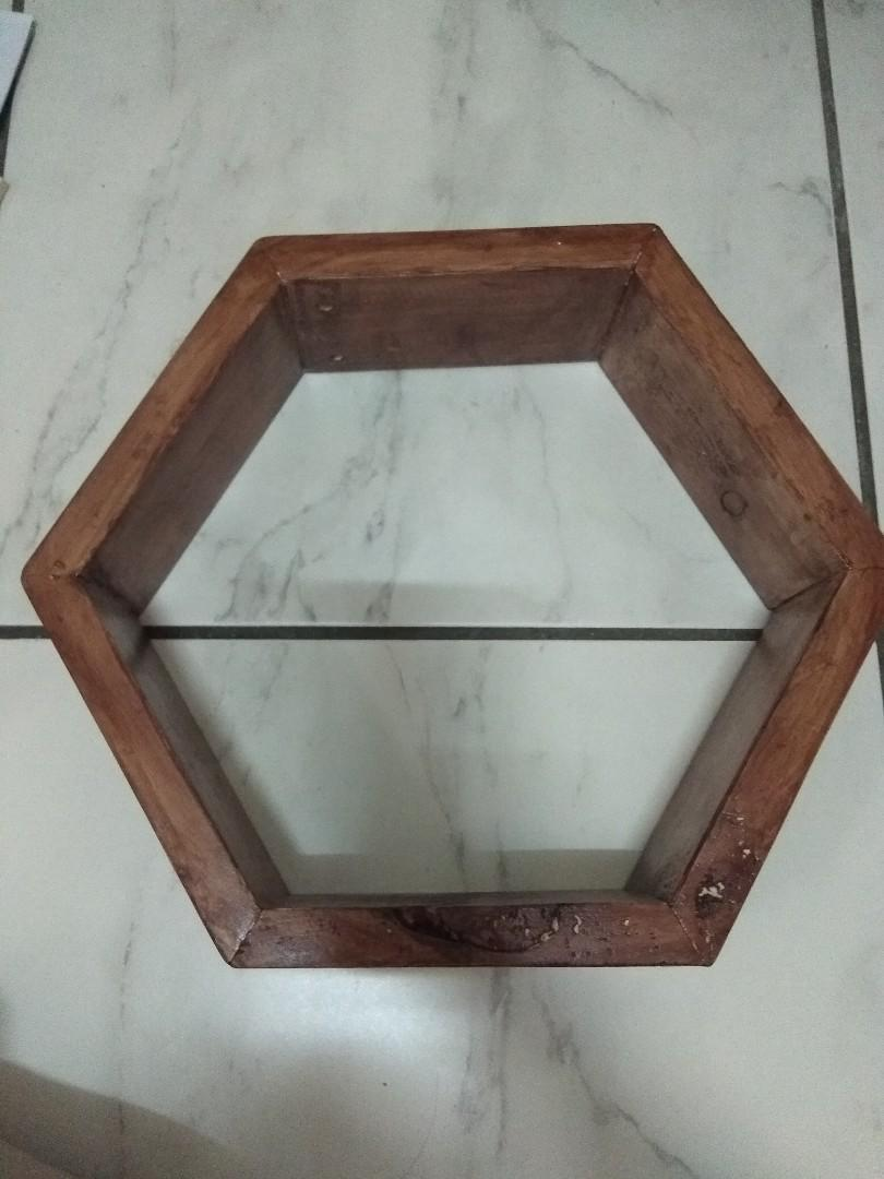 Handmade hexagonal