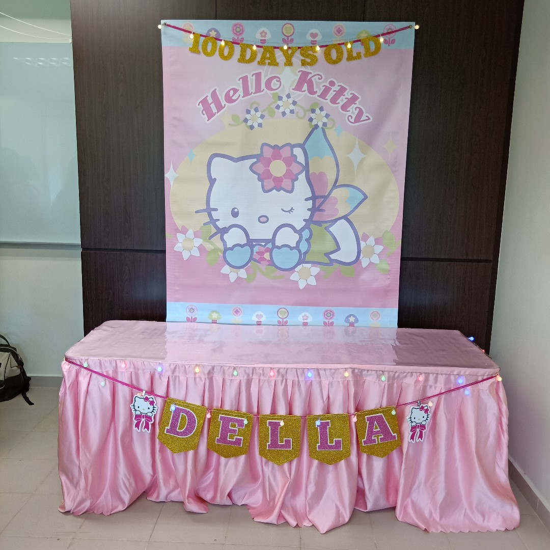 Hello Kitty Theme Party Decoration For Rent