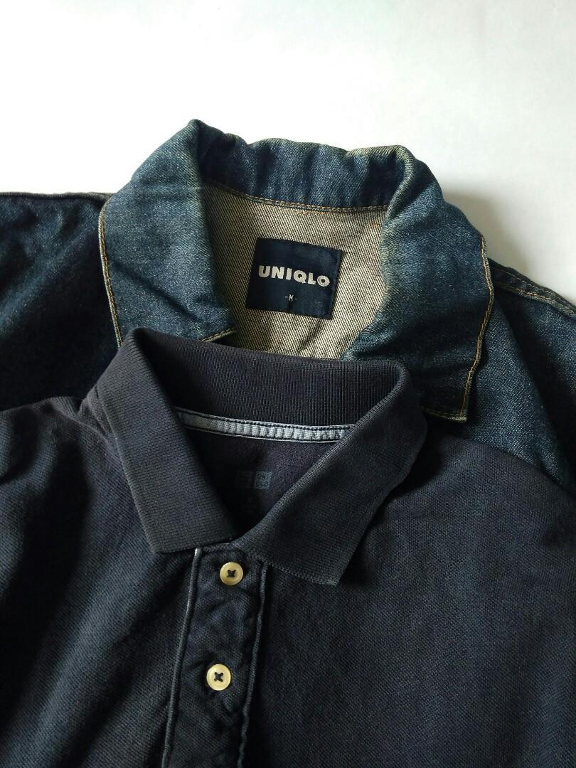 Jaket Jeans Uniqlo