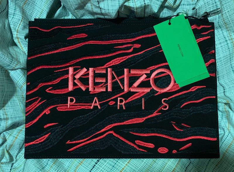 da0b289657 Kenzo bag, Luxury, Bags & Wallets, Clutches on Carousell