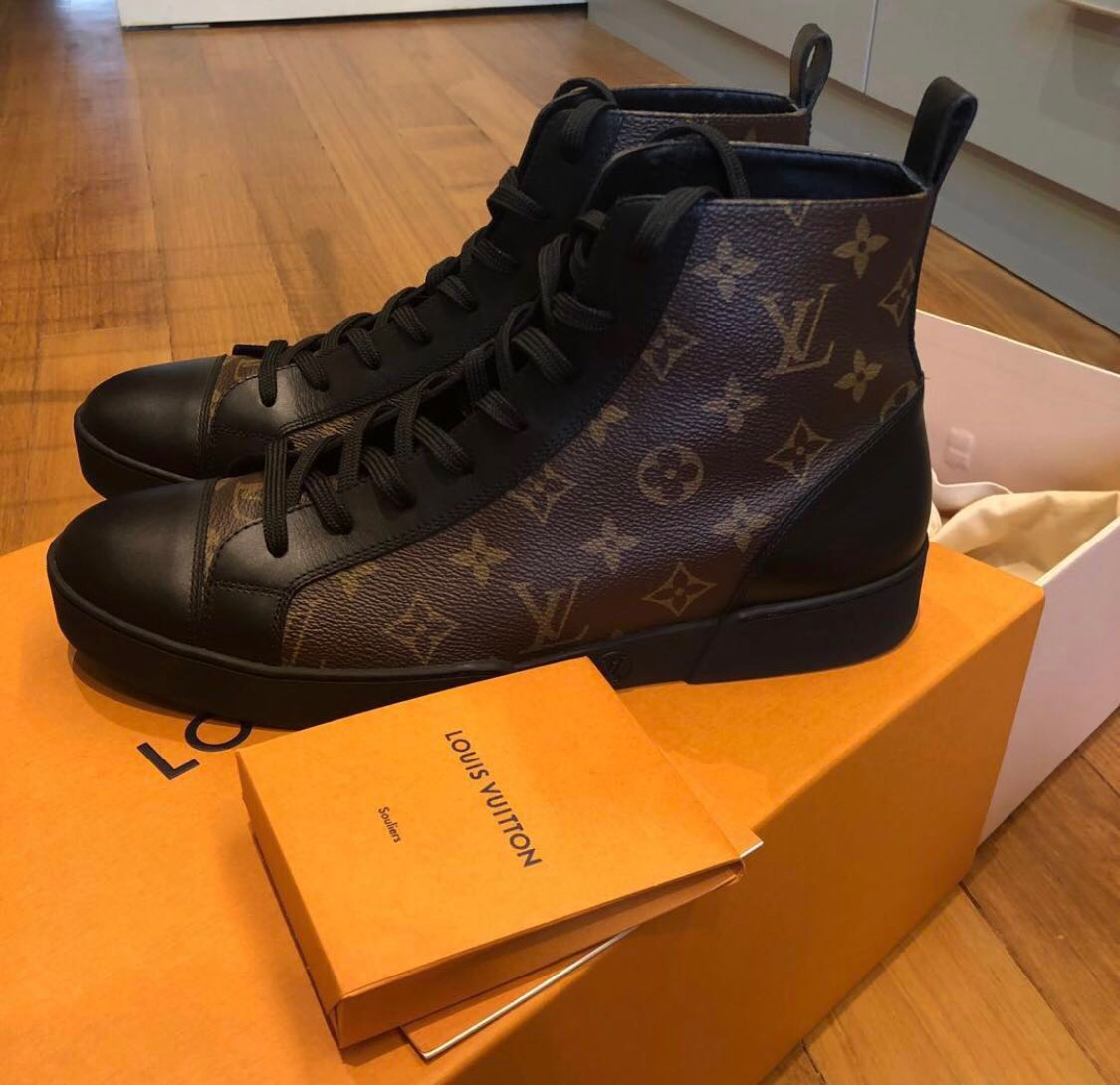 aefd6c44833a LV match-up sneaker boot