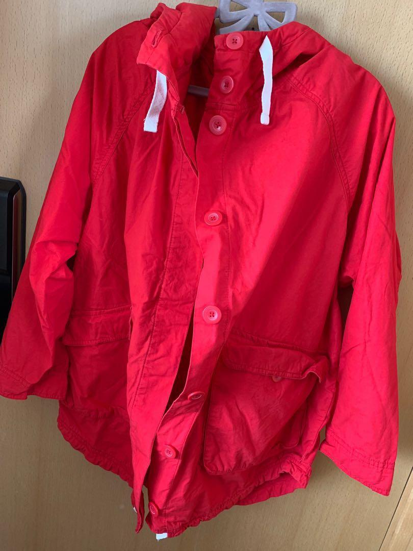 Monki Red Coat for Men 紅色Monki外套