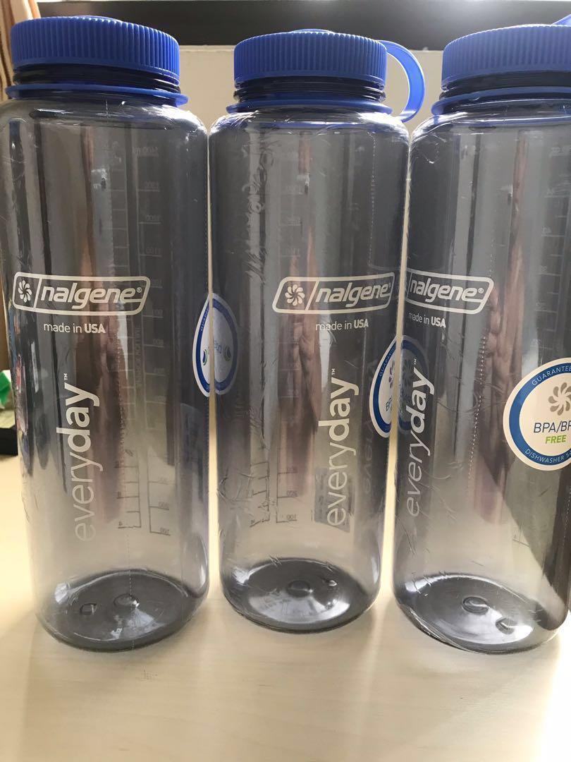 3aa52e3e66 Nalgene Silo Tritan wide mouth 48 oz (1.5L) water bottle, Everything ...