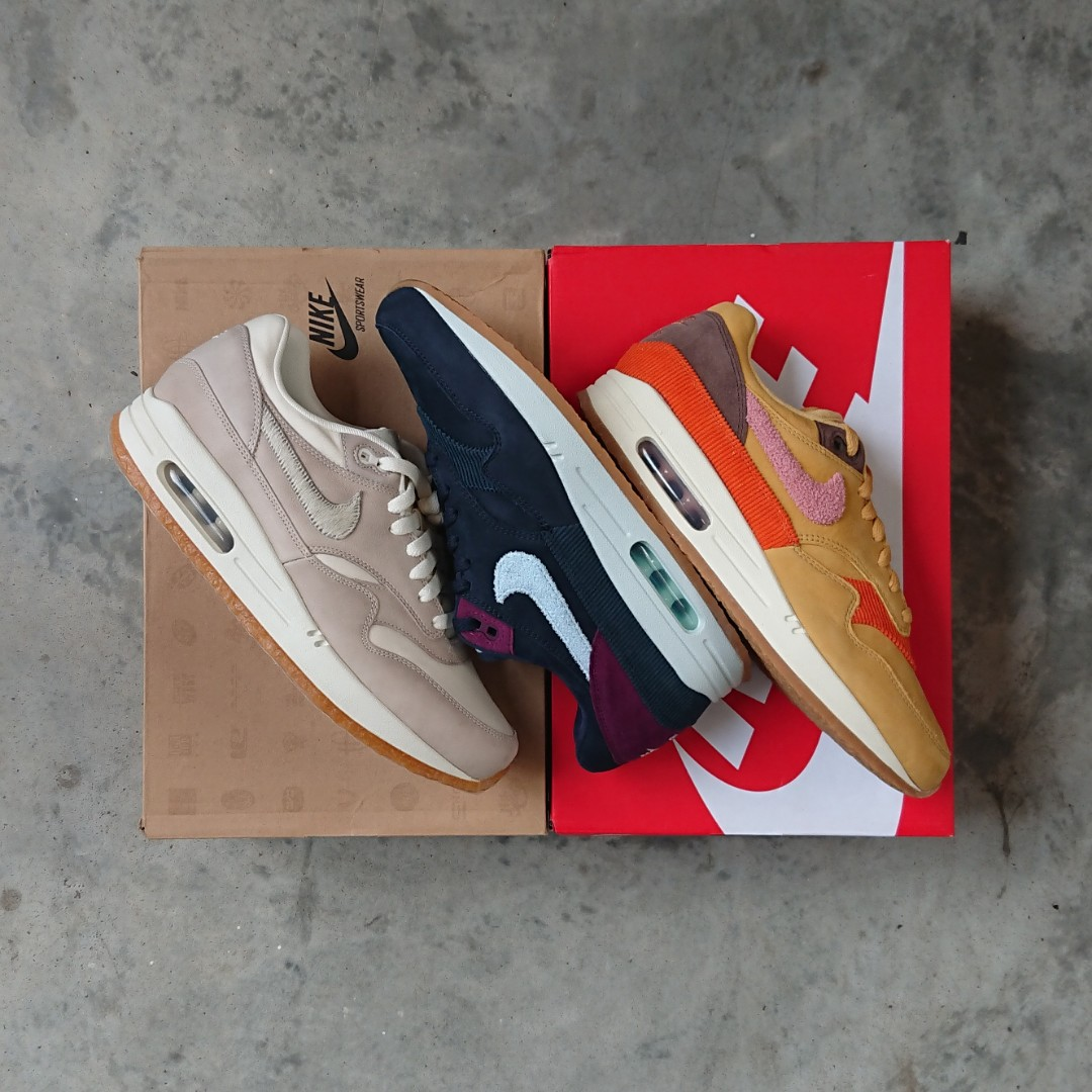 643c653acc Nike Air Max 1 Crepe Sole, Men's Fashion, Footwear, Sneakers on Carousell